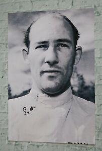 ORIGINAL Autogramm von Sir Stirling Moss. pers. gesammelt. 20x30 Foto. 100% ECHT
