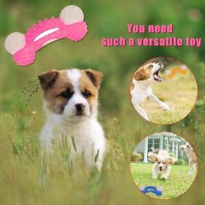 Dog Chew Toys Aggressive Chewer Indestructible Dog Rubber Tough Bone Toy S4U4