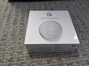 Google Nest G4CVZ Programmable Wi-Fi Thermostat - Fog Gray New Sealed