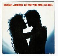 "Michael JACKSON Vinyl 45 tours RPM 7"" THE WAY YOU MAKE ME FEEL -EPIC 651275"