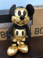 Mickey Mouse Gold Plush
