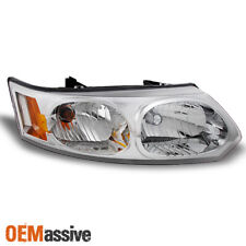 2003-2007 Saturn Ion 4-Dr Sedan Clear Passenger Right Side Replacement Headlight (Fits: Saturn Ion)