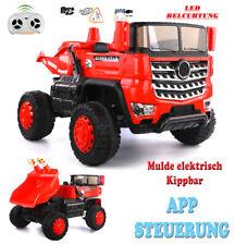 R/C MULDENKIPPER LKW | APP STEUERUNG | LED | MP3 | 12V 10Ah Akku | 4x35W Motoren
