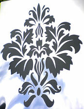 high detail airbrush stencil damask forty three pattern FREE UK POSTAGE