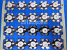 1-100PCS 3W Deep RED 650nm-660nm LED Plant Glow Light Bead with 20mm Star Base