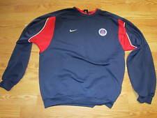 Paris St. Germain soccer jacket zip front nike LARGE