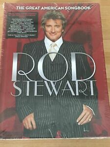 Rod Stewart - The Great American Songbook Book NEW & SEALED  CD