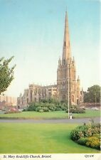 s10471 St Mary Redcliffe, Bristol, England postcard unposted