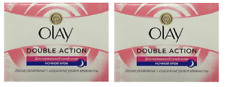 Olay Double Action Moisturiser Normal Dry Skin Night Cream, 1.7 oz (2 Pack)
