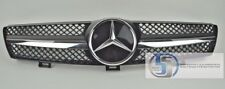 Mercedes Front W219 CLS500 CLS600 CLS Grille Grill 1 FIn AMG BLACK Distronic DTR