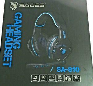 SADES SA810 Gaming Headset PS4 Xbox One PC Stereo Sound 3.5mm Headphone Mic