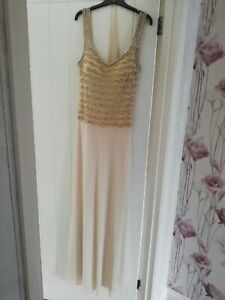 Evening, Mother of the bride, stunning dress, the fabric hangs beautifully....
