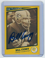 PACKERS Bill Curry signed card SB I Aniv AUTO Autographed Super Bowl I Green Bay