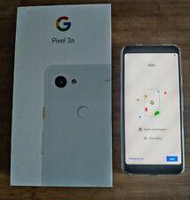 Google Pixel 3a - 64GB - Clearly White (Unlocked) (Single SIM)