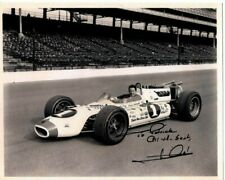 MARIO ANDRETTI Autographed Signed INDY Photograph - To Patrick