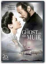 The Ghost and Mrs. Muir DVD New Gene Tierney Rex Harrison George Sanders