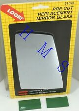 MOTOMITE DORMAN 51023 REPLACEMENT SIDE MIRROR GLASS CHEVY S-10, BLAZER GMC S-15