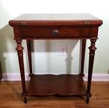 Bombay Company, Inc. Game Table / Side Table with Organized Drawer 2002