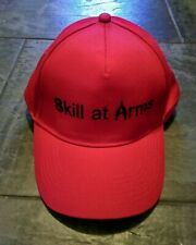 Not Just for the Boys! Skill At Arms Shooting Experience Baseball Cap Red Black