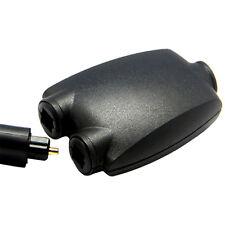 2 Way Optical Digital Splitter Adapter for Toslink Jack Fibre Audio Cables DVD