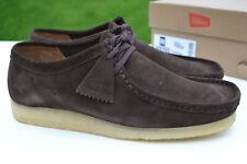 Clarks Originals BNIB Mens Shoes WALLABEE Dark Brown Suede UK 12 / 47