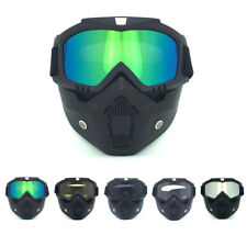 Tactical Military Airsoft Paintball Goggles Full Face Mask Eye Shooting Glasses