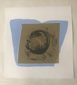 "MATTHEW HILTON b1948 Limited Ed SCREENPRINT ""Jugs"" - Blue ed 5/30 Curwen 1994"
