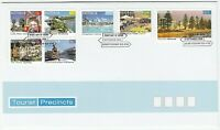 2008 AUSTRALIA FIRST DAY COVER FDC 'TOURIST PRECINCTS' - MINT CONDITION