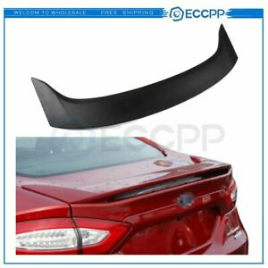 For 2013-2020 FORD FUSION Stylish Black SPOILER Wing Increase Fuel Efficiency