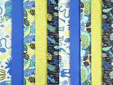 20 JELLY ROLL STRIPS COTTON PATCHWORK FABRIC 22 INCH LONG - ELECTRIC JUNGLE