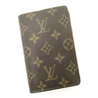 Louis Vuitton wallet Monogram Monogram Canvas  Used Auth C3619
