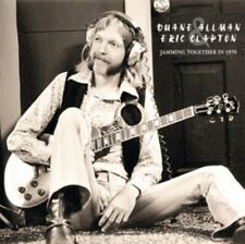 "Duane Allman & Eric Clapton: Jamming Together in 1970 - 2LP 12"" Vinyl Record"