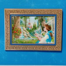 Disney Pin Variant ACME Archives Gold Frame Beauty and the Beast Princess Belle