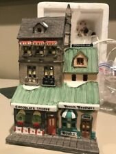 Dept. 56 The Chocolate Shoppe Christmas the City 59684 Heritge lot (Lot-Tj)
