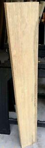 White Limba Wood aka Korina 48X6.5X2 Q/S Kiln Dried Lumber Woodworking Projects