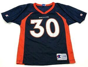 VINTAGE Champion Terrell Davis Denver Broncos Football Jersey Youth Large USA