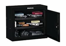 Concealed Pistol Storage Safe Cabinet Ammo Two Shelves Gun Security Lock Box New