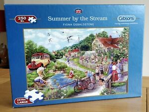 Gibsons Summer By The Stream 250 XL Piece Jigsaw Puzzle G2711 IMMACULATE.