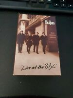 """THE BEATLES """"Live At The BBC"""" Double Cassette Tape Set"""