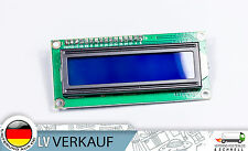 I2C IIC 1602 16x2 Zeichen LCD Display HD44780 blaues BL für Arduino Raspberry Pi