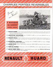 ▬►Prospectus Original CHARRUE RENAULT HUARD (Tracteur Massey Deutz Soméca....)