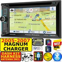 05 06 07 DODGE MAGNUM CHARGER GPS NAVIGATION BLUETOOTH CD/DVD USB AUX SD CAR PKG