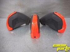 Red Snorkel 2.5 inch Caps set of three 707001386 OEM Canam