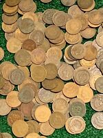 Lot of 25 Coins Mixed Indian Head Cent Pennies Penny Lot