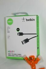 BRAND NEW BELKIN MIXIT 6 FT USB-C TO USB-A CABLE US BASED SELLER FREE S&H