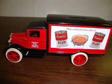 1931 Hawkeye Truck---Campbell's Beans---1:34 Scale Diecast--Bank With Key-1992
