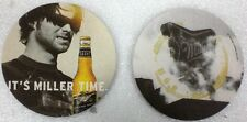 "40 - Miller Genuine Draft MGD Beer Tavern Coasters  ""IT""S MILLER TIME""    NEW"