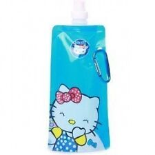Hello Kitty Eco Folding Bottle 2 Pack Water Bottles with clip