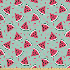 Frutta Tessuto al metro elastan Pop Art Fette