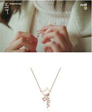 Stylus Destin Destiny Pink Silver925 Cubic Necklace Korean Drama Dokkaebi Goblin
